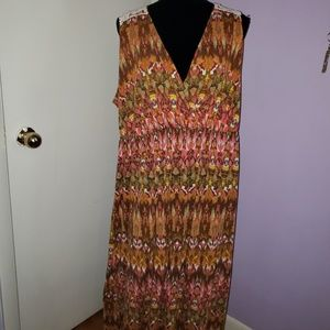 Faded Glory cross over front sundress. Size 4X